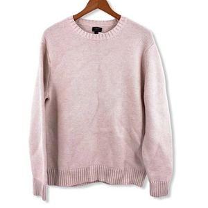 J Crew Cream Organic Cotton Sweater Medium